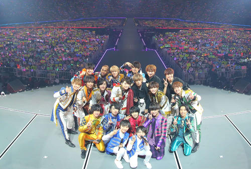 Photo of Kansai Jr's first solo dome performance: 135,000 people mobilized for 3 days