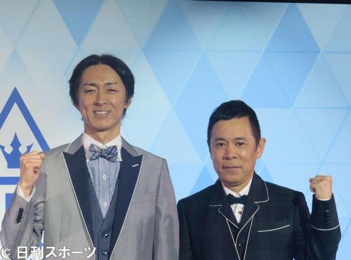 ナインティナイン矢部浩之(左)と岡村隆史