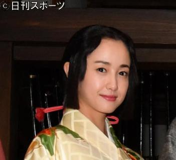 19年6月、NHK大河ドラマ「麒麟がくる」クランクイン会見での沢尻エリカ