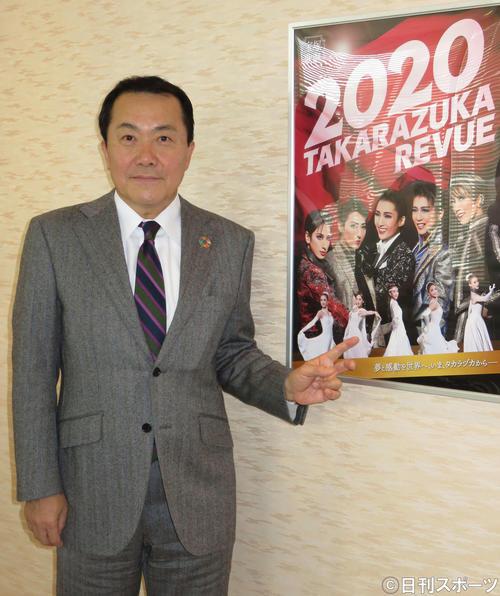 宝塚歌劇団の小川友次理事長(2020年1月14日撮影)