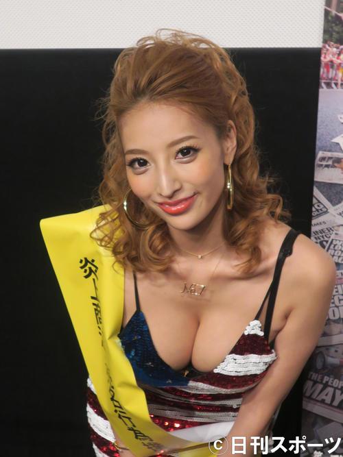 加藤紗里(2017年2月18日撮影)