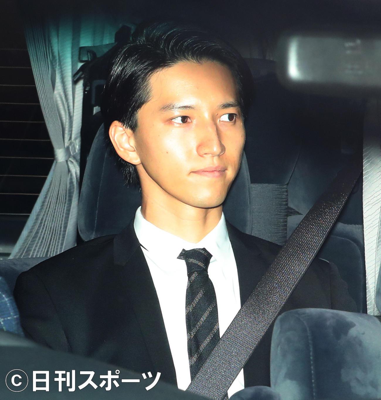 田口淳之介(2019年10月21日撮影)