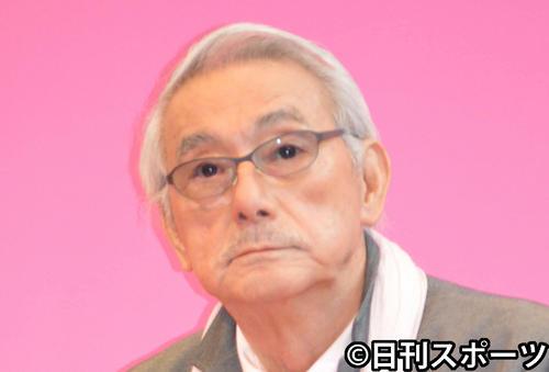 宍戸錠さん(2013年3月19日撮影)