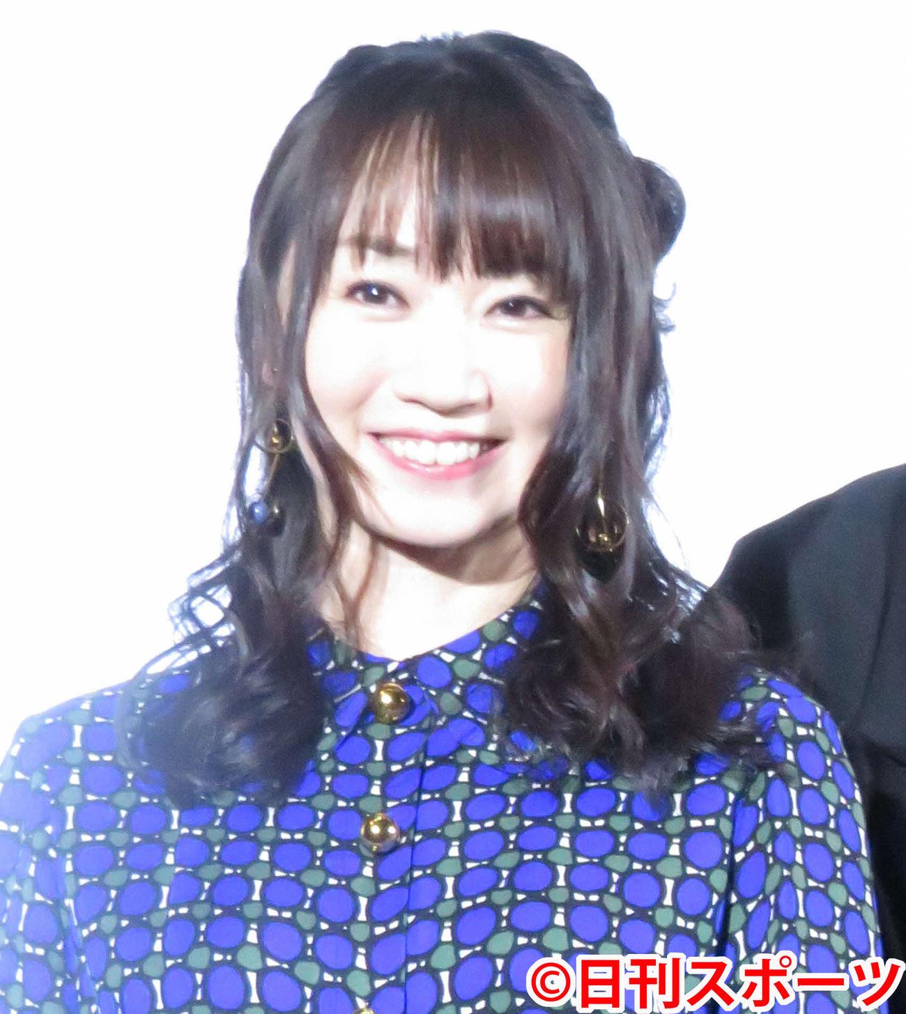 水樹奈々(2018年12月22日撮影)