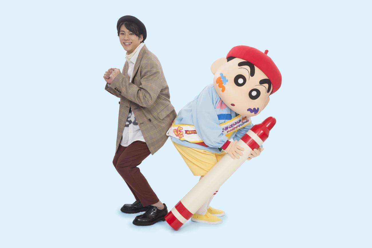 4月公開の映画「クレヨンしんちゃん」にゲスト声優を務める山田裕貴