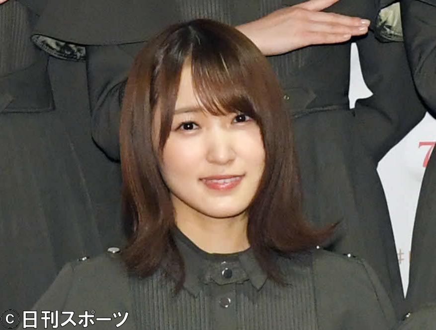 欅坂46菅井友香(19年12月29日撮影)