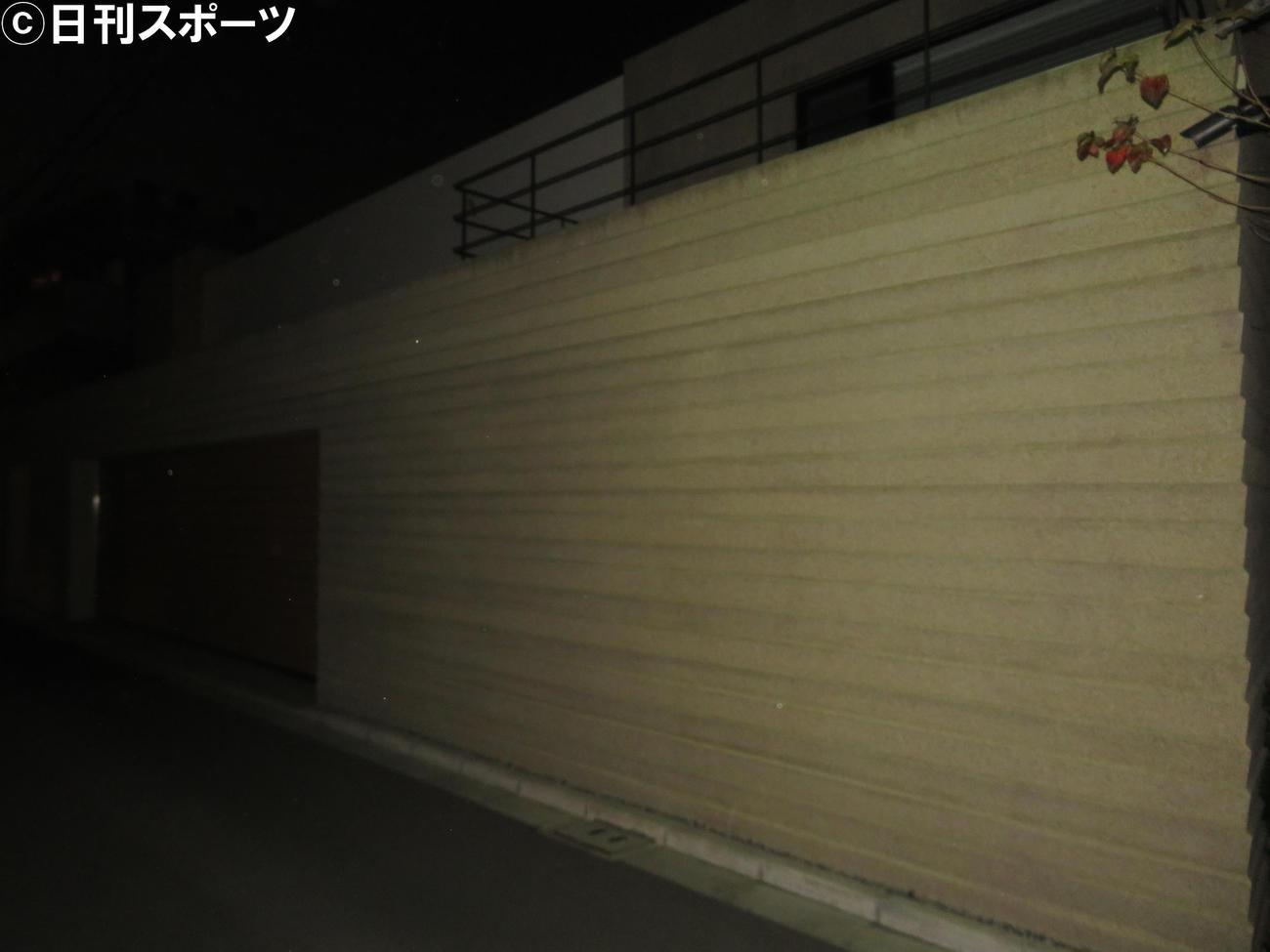 逮捕された槇原敬之の自宅