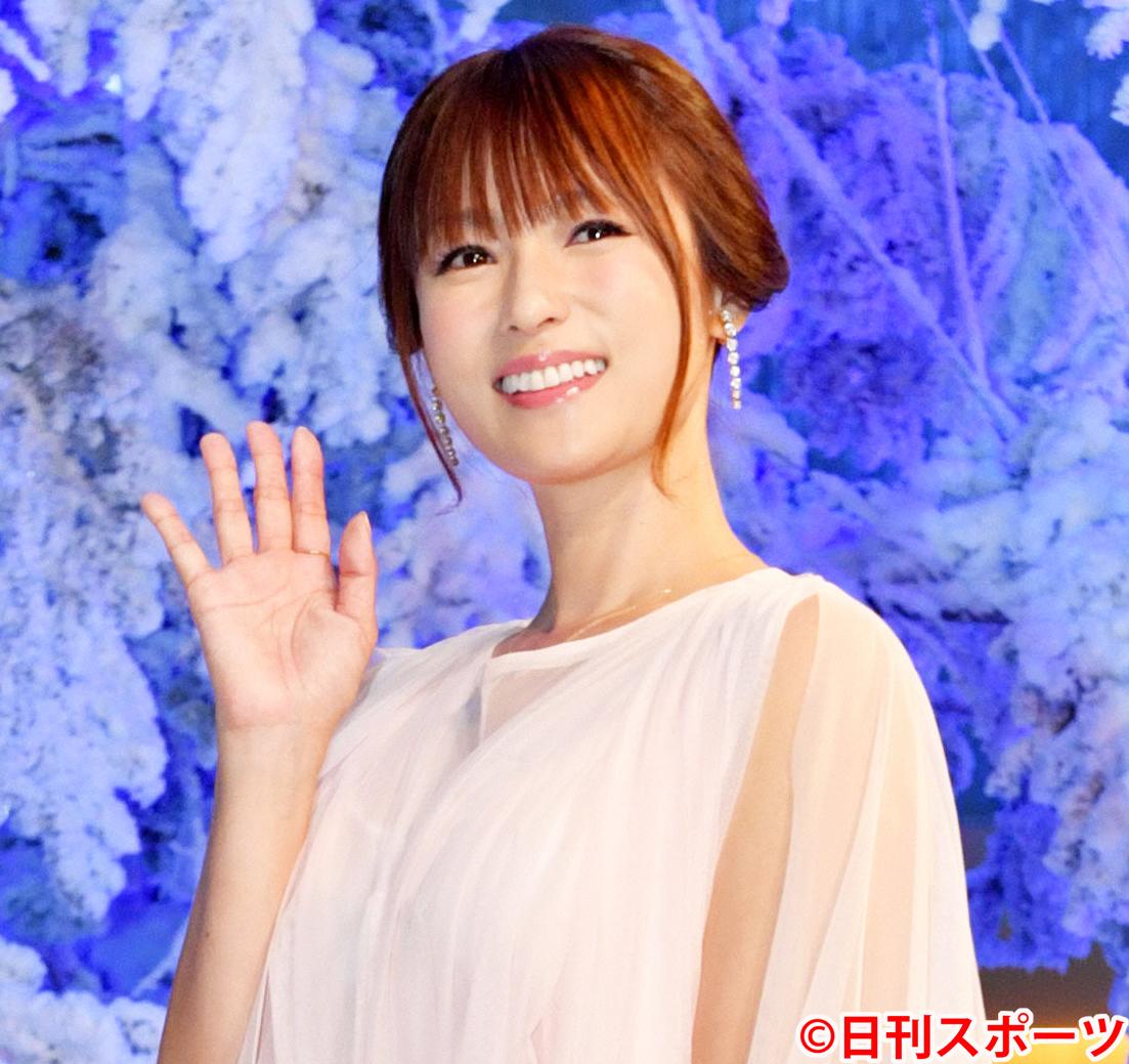 深田恭子(2018年12月24日撮影)