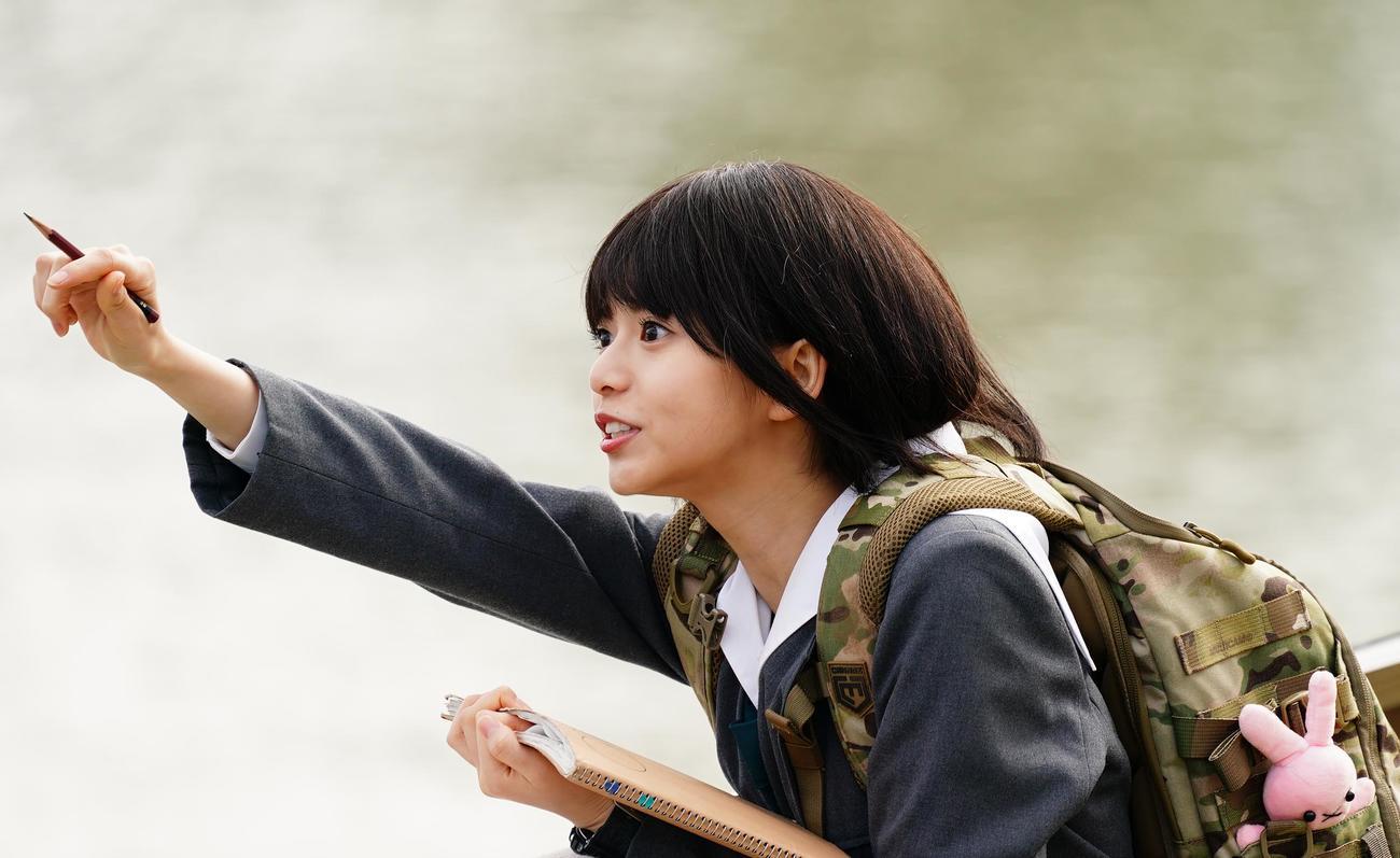 「映像研には手を出すな!」で熱演する齋藤飛鳥