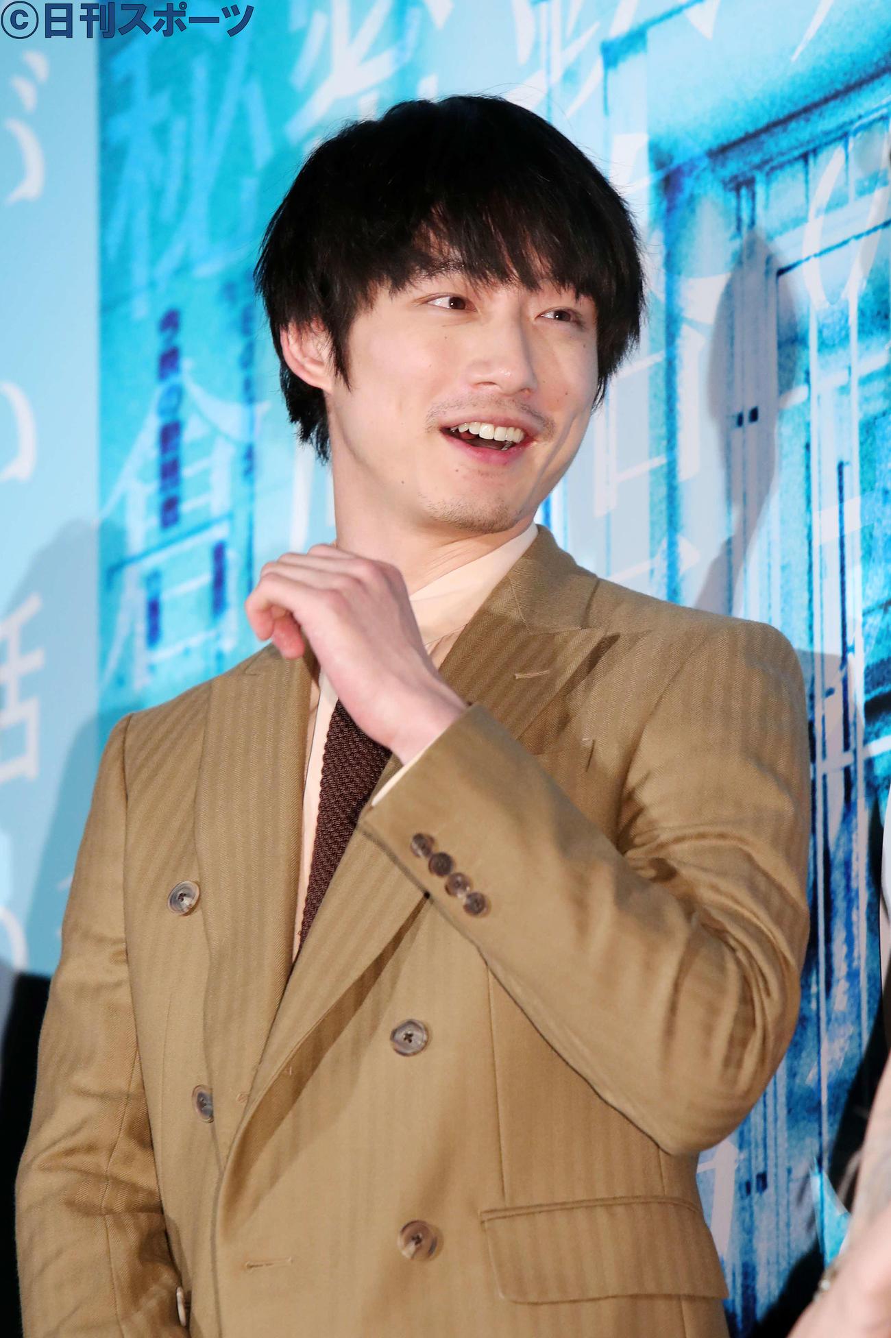 映画「仮面病棟」ジャパンプレミアに出席した坂口健太郎