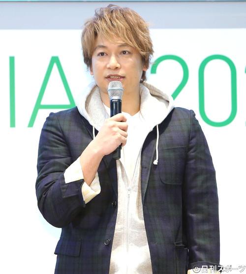 パラリンピックについて語る香取慎吾(撮影・鈴木正人)