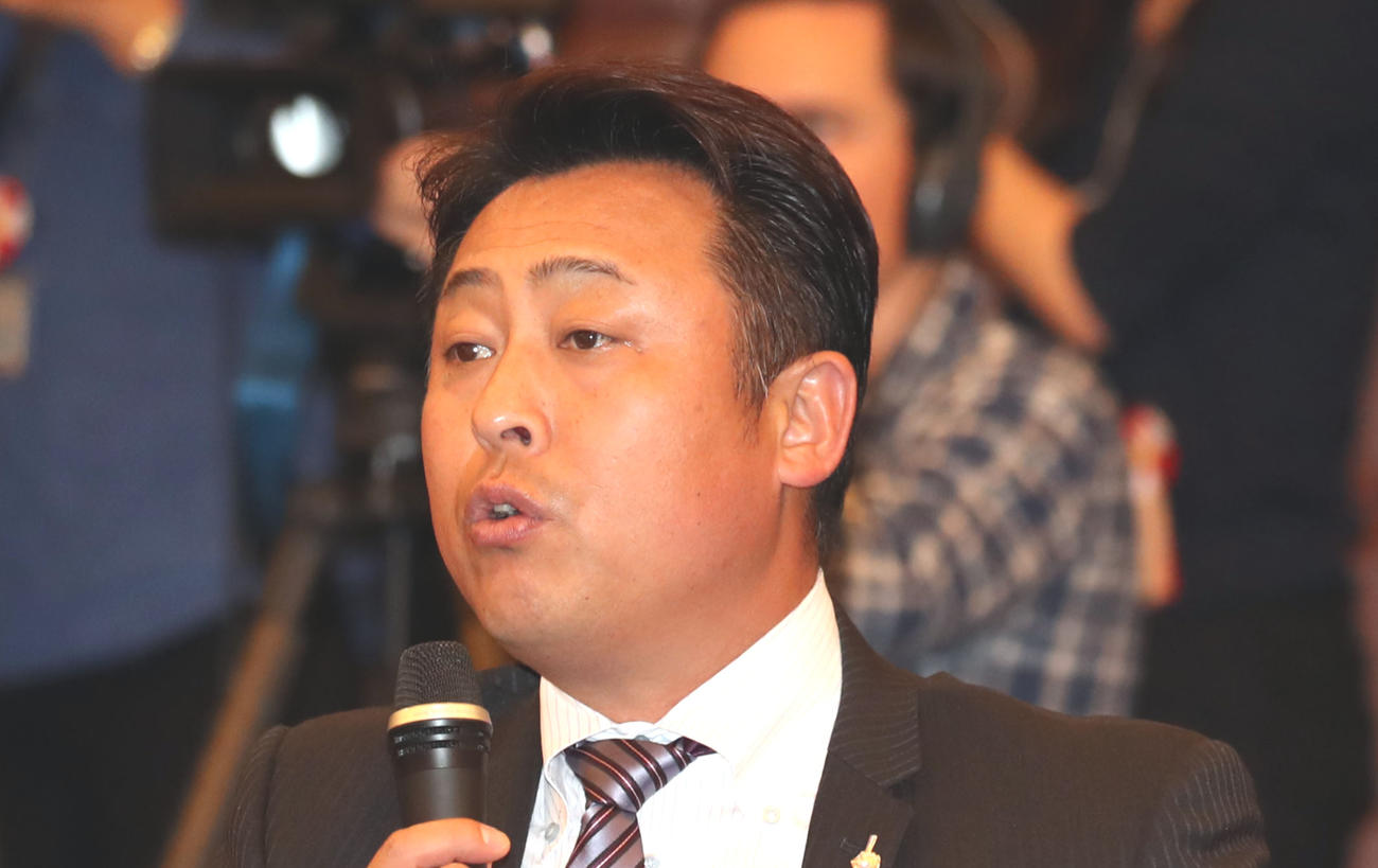 岩本勉氏(2018年11月22日撮影)