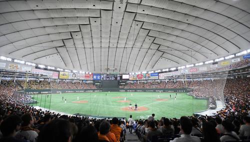東京ドーム(2019年10月13日撮影)