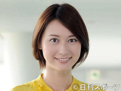小川彩佳アナ(2011年9月12日撮影)