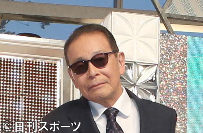 タモリ(2019年10月18日撮影)