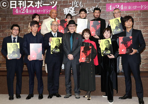 "Photo of The last work of Renji Ishibashi? ""Feelings of living funeral"" luxury cast movie"