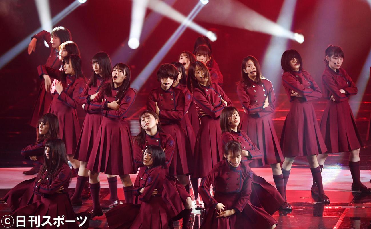 欅坂46(2019年12月30日撮影)