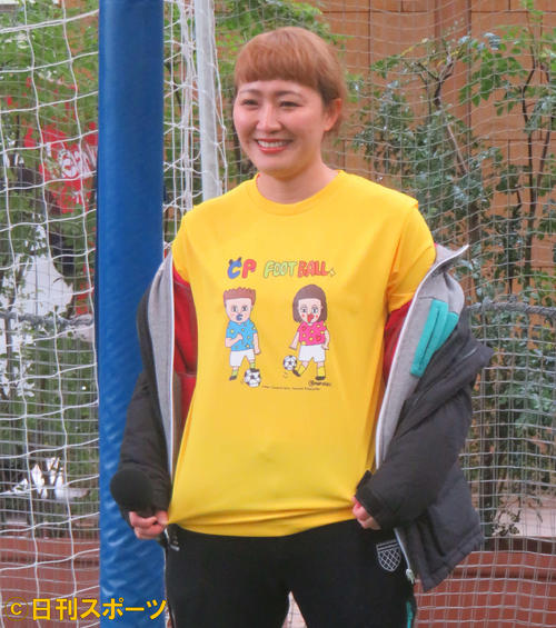 "Photo of Former Nadeshiko Kei Rina Maruyama ""follows"" men instead of balls"