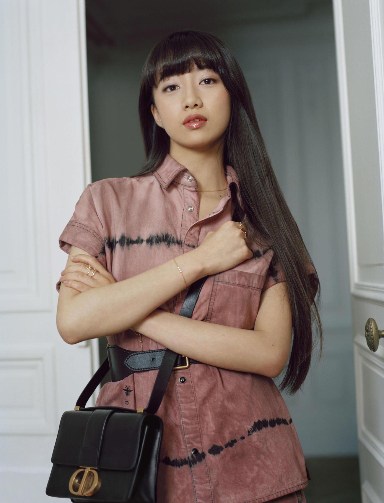 ディオールのビューティー、ファッション、ジュエリー&タイムピーシズのジャパンアンバサダーに就任するCocomi EmmaLeDoyen