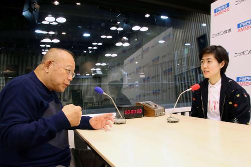 「新聞記者」シム・ウンギョン ラジオで鶴瓶と対談