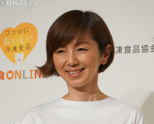 "Photo of Watanabe Marina, ""Easy"" to make her own sterile spray"