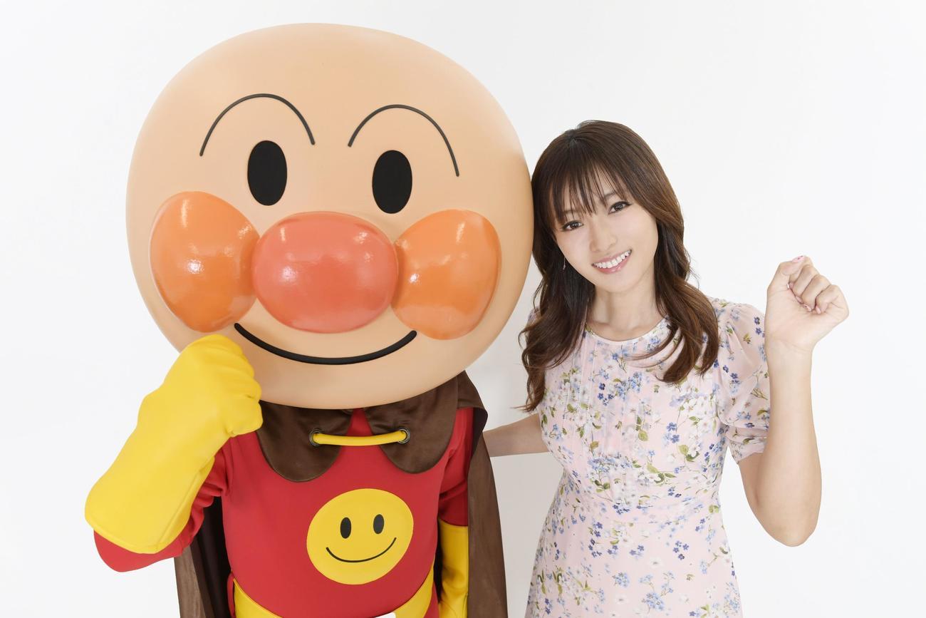 シリーズ最新作「それいけ!アンパンマン ふわふわフワリーと雲の国」に声優出演することがわかった深田恭子