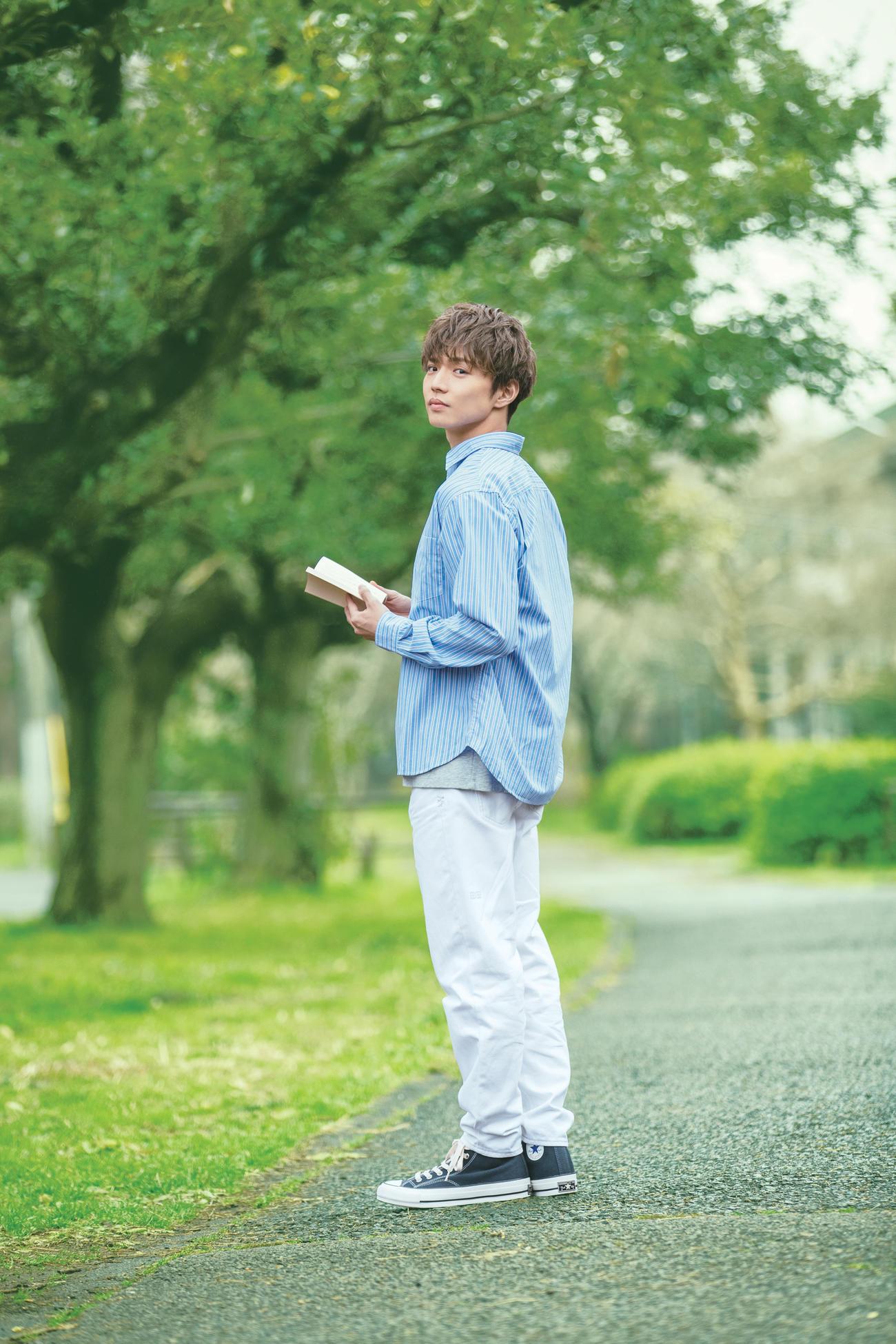 幻冬舎文庫の20年度イメージキャラクターに決まった佐藤大樹
