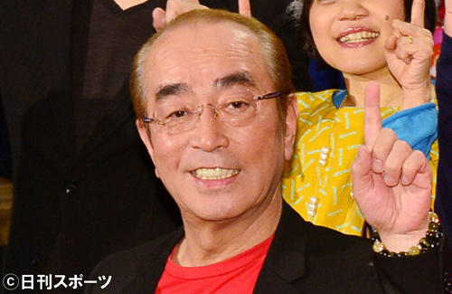 Photo of Ken Shimura with corona infection, no change in medical condition as of 29th