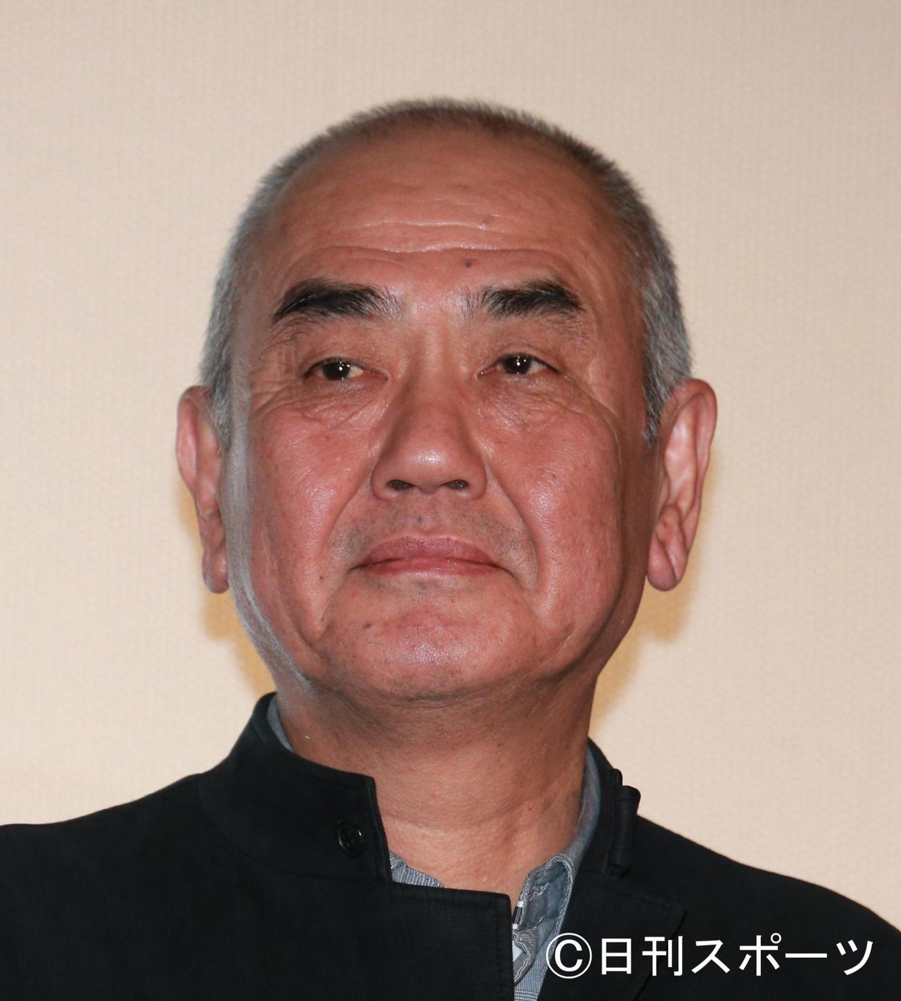 佐々部清監督(2019年1月12日撮影)
