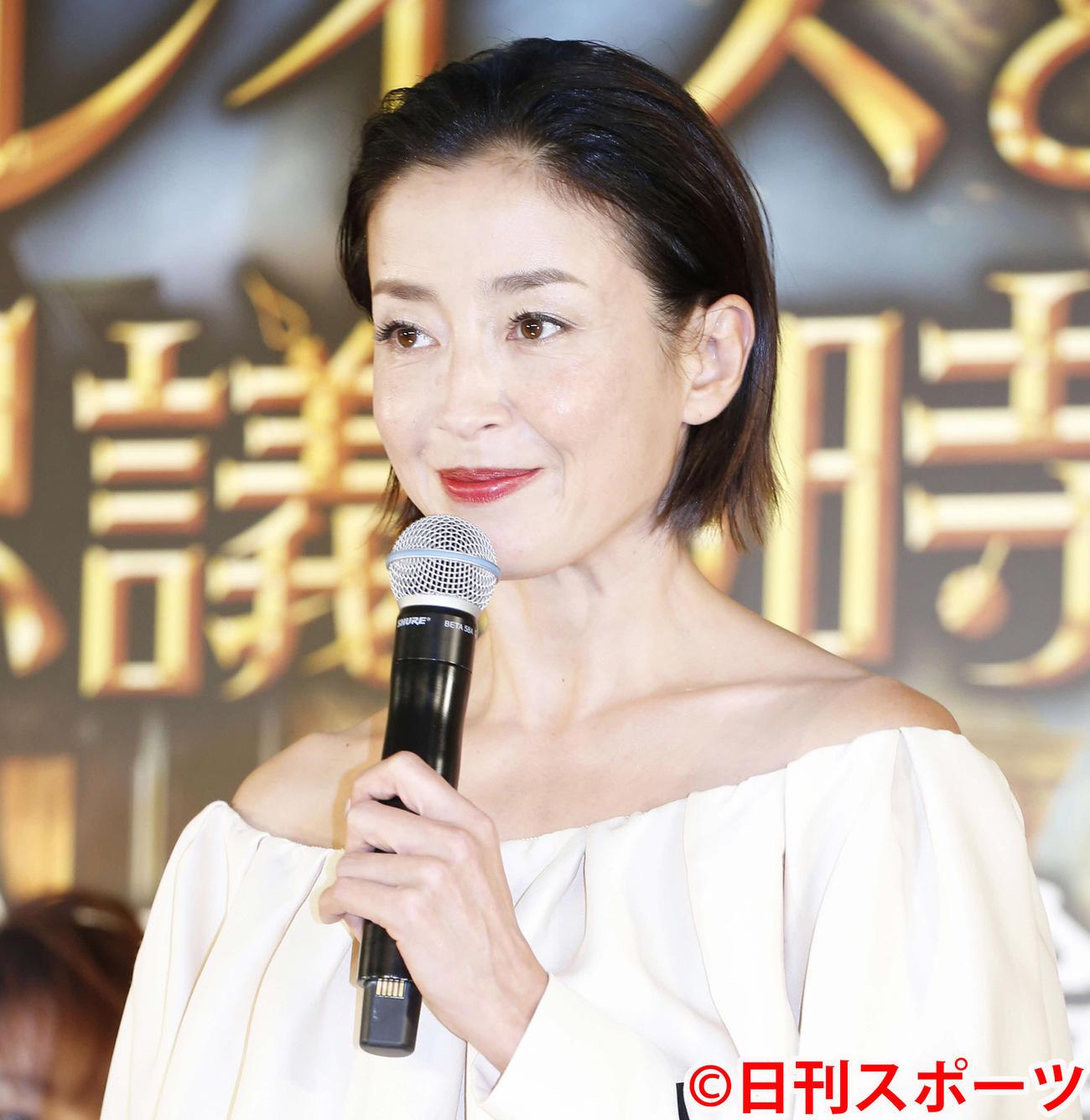宮沢りえ(2018年9月24日撮影)