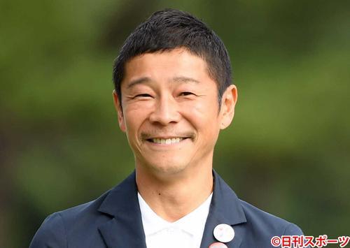 前澤友作氏(2019年10月28日撮影)