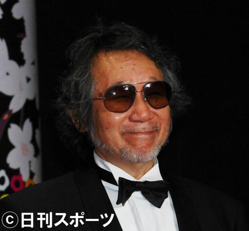 第19回東京国際映画祭に出席した大林宣彦監督(06年10月21日撮影)