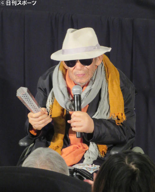 東京国際映画祭特別功労賞を受賞した大林宣彦監督