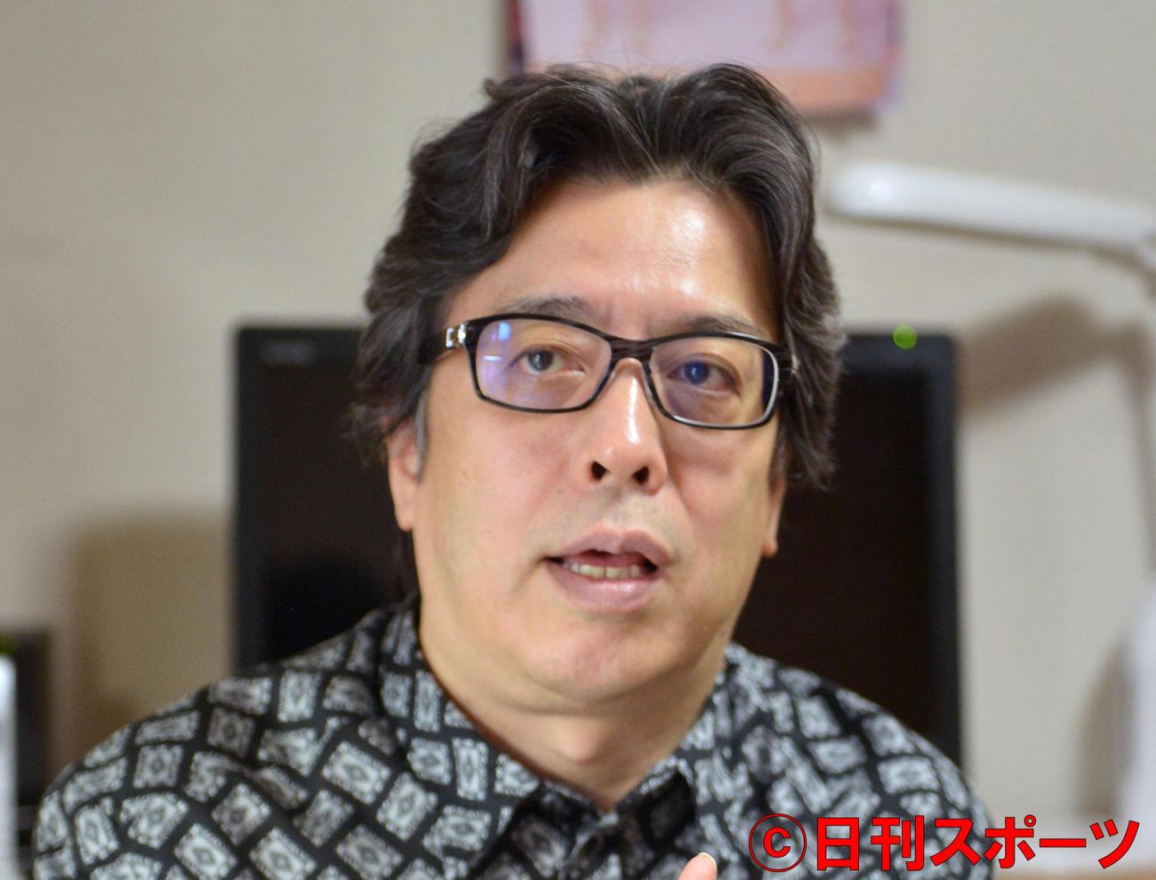 小林よしのり氏(13年10月撮影)