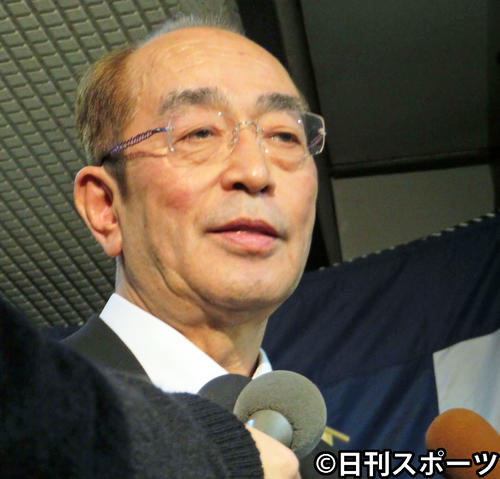 Photo of Ken Shimura's night funeral will be held.