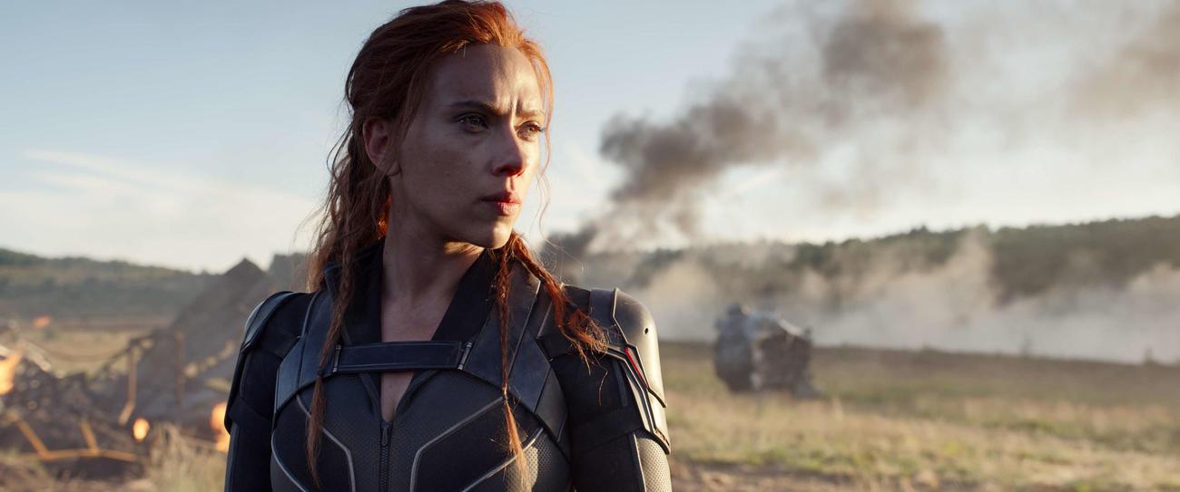 スカーレット・ヨハンソン主演の「ブラック・ウィドウ」の1場面(C)MarvelStudios2020