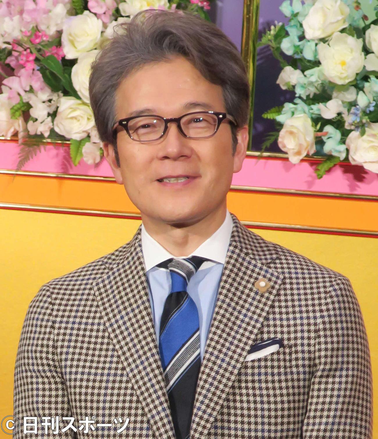 有馬嘉男キャスター(2月13日撮影)