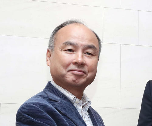 "Photo of Masayoshi Son ""I blame myself for being irresponsible because of lack of power"""