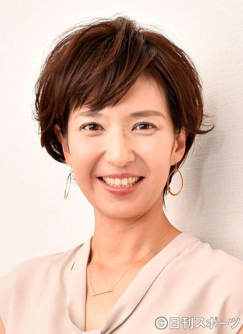 Tokunaga Yumi announcer [photographed on September 12, 2018]