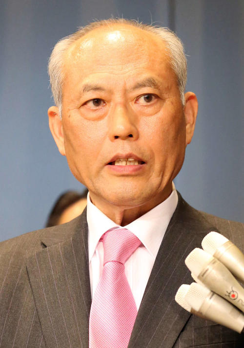 Mr. Yoichi Masuzoe [photographed in May 2016]