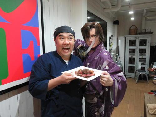 """Photo of Guest appearance in """"Yoshikaichi no Shou"""" Masaki Kyomoto """"Tsukushita Shokudo"""""""