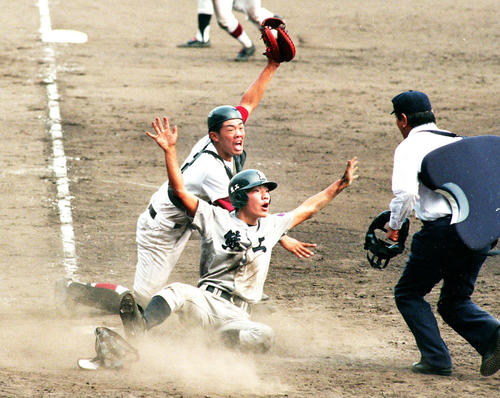 """Photo of Broadcast of high school baseball games such as """"miracle back home"""""""