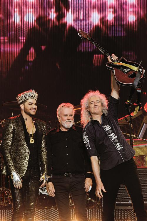 "Photo of Queen, Lambert ""Champion"" new version"