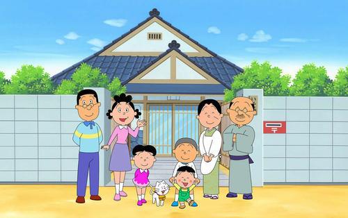 17日から再放送となるフジテレビ系アニメ「サザエさん」(C)長谷川町子美術館