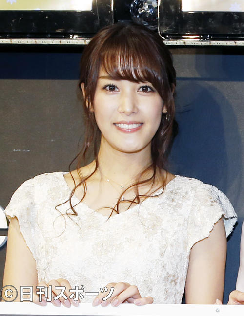 """Photo of Reina Washimi announcer first appearance in other stations! """"I'm not affair"""" on the phone"""