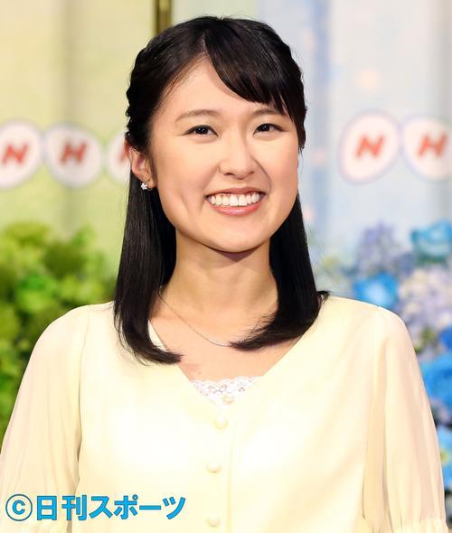 NHK近江友里恵アナウンサー(17年2月撮影)