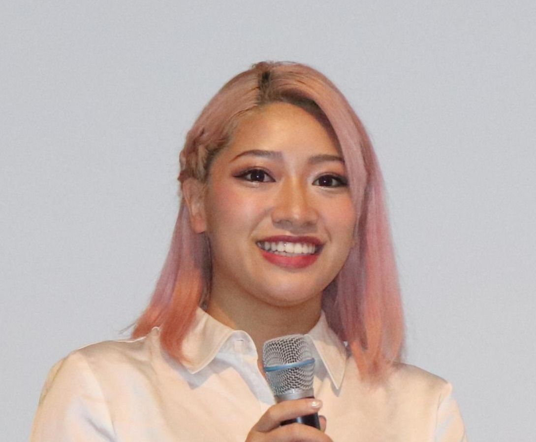 木村花さん(2020年1月13日)