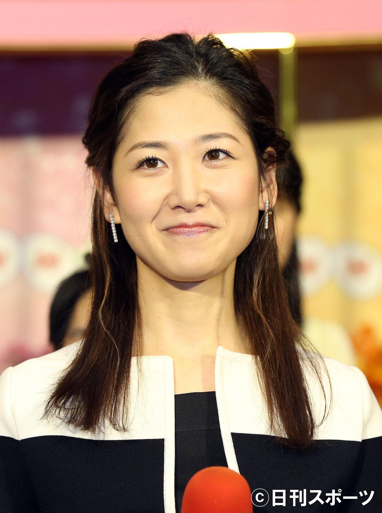 桑子真帆アナ(2017年2月16日撮影)