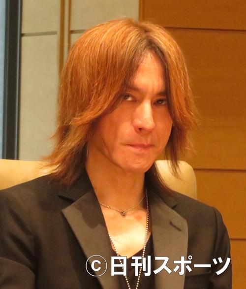 SUGIZO [photographed in May 2017]