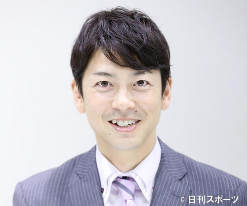 テレビ朝日の富川悠太アナウンサー(2016年9月13日撮影)